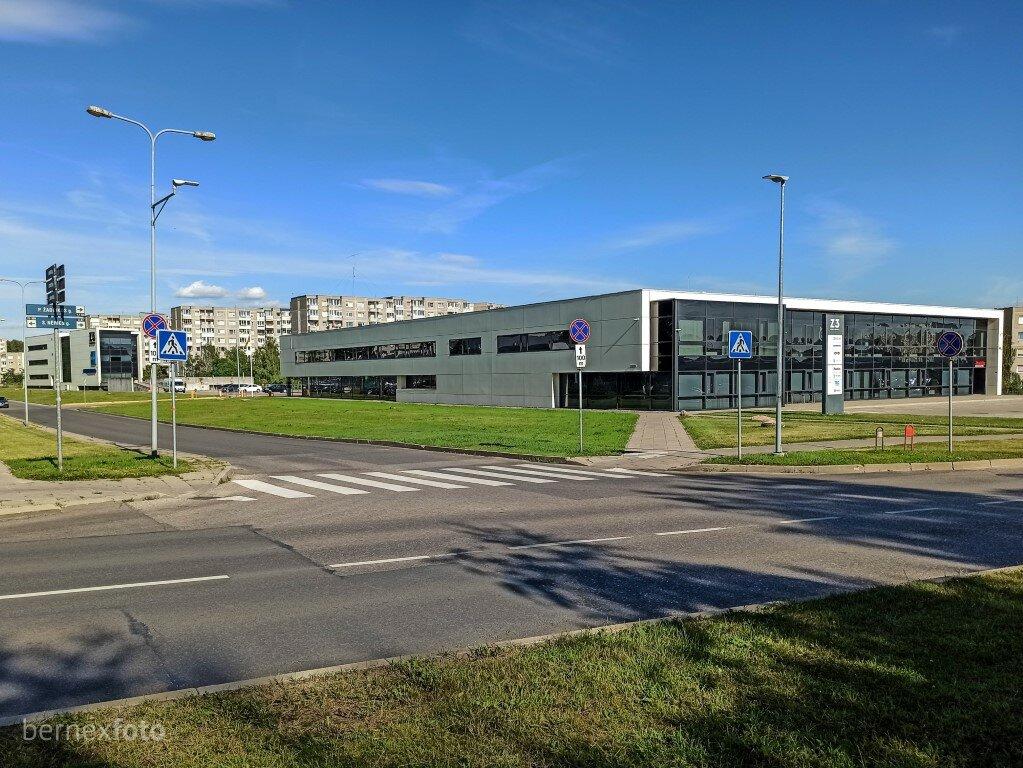 """Kelrodis iki tako pradžios - ties S. Nėries ir L. Zamenhofo g. sankirta stovintis buvęs """"Norfa"""" prekybos centras, dabar - """"Z3"""" verslo centras"""