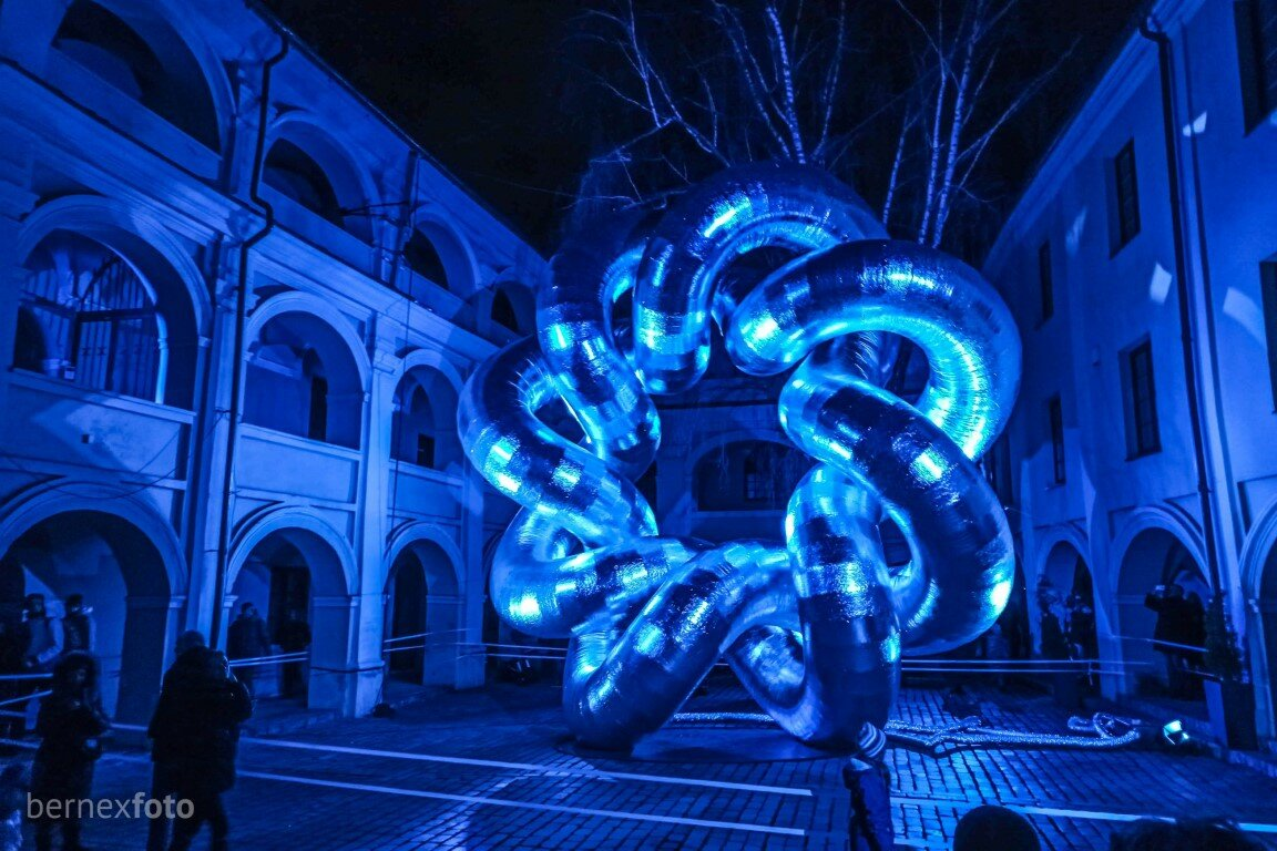 "V. Aliukas ""Mazgas"" - Vilniaus šviesų festivalis 2020"