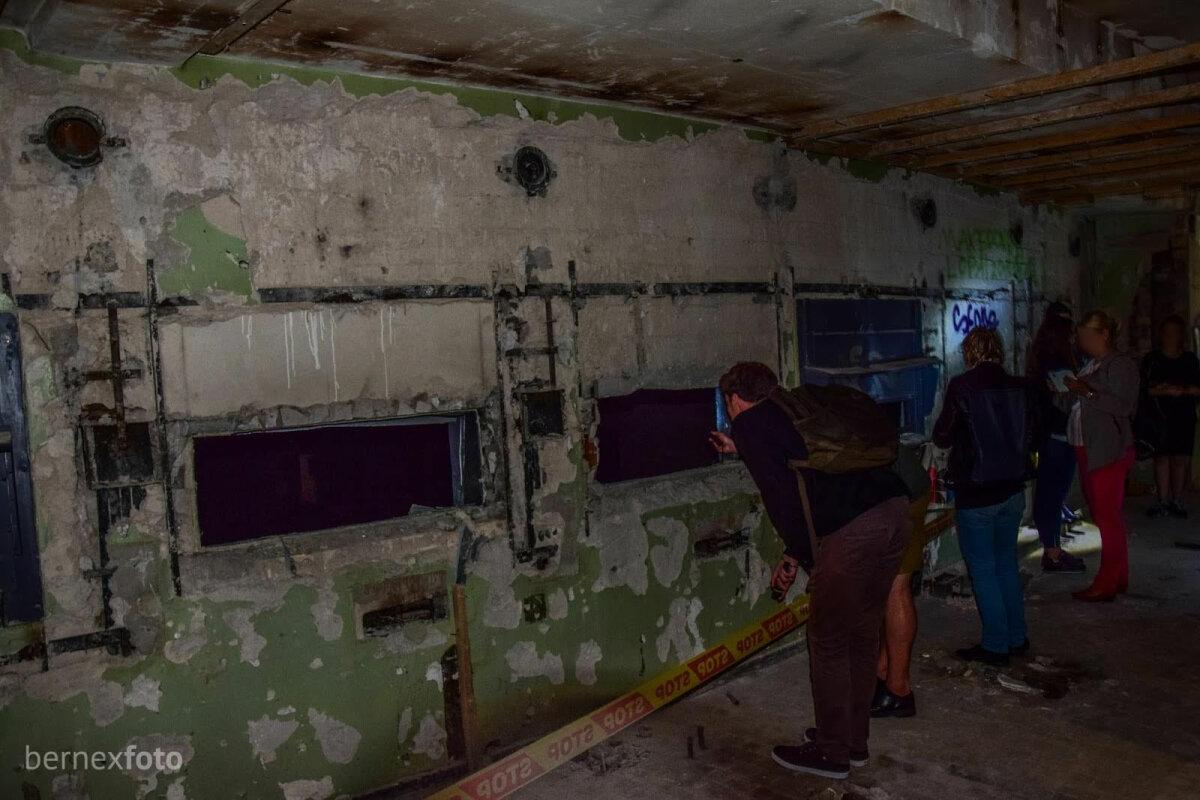 Buvusi projektorių patalpa